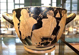 Phoenix (son of Amyntor) - Image: Akhilleus embassy Louvre G146