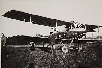 "Light bomber - An Albatros C.III of the German Luftstreitkräfte, circa 1916. While it was designed as a ""armed reconnaissance"" type, the C.III was also an iconic light bomber of World War I."
