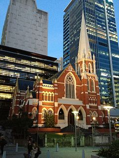 Albert Street Uniting Church church building in Queensland, Australia