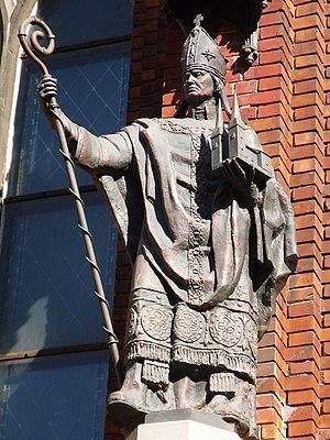 Baltic nobility - Image: Albert of Riga
