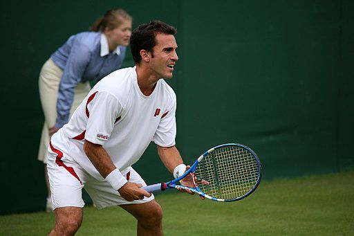 Alberto Martín at the 2009 Wimbledon Championships 01
