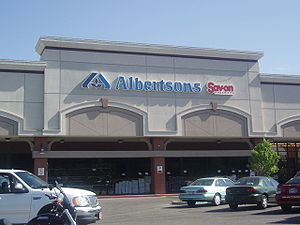 Albertsons - A typical Albertsons in Boise, Idaho.