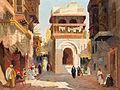 Aleksander Laszenko Ulica w Kairze 1923.jpg