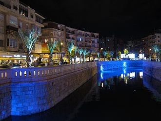 Queiq River - Queiq River in downtown Aleppo, 2011