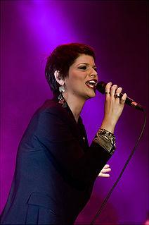 Alessandra Amoroso Italian pop/soul singer