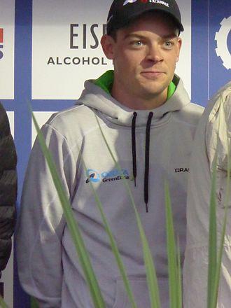 Alex Edmondson - Edmondson at the 2016 Tour of Britain.