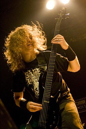 Alex Webster - Image: Alex Webster of Cannibal Corpse