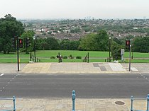Alexandra Palace Park, pedestrian crossing - geograph.org.uk - 823133.jpg