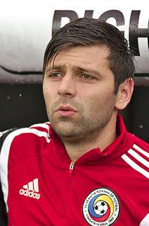 Raul Rusescu Romanian footballer