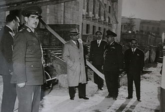 Ali Amini - Amini after his appointment as prime minister
