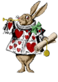 Alice rabbit art brown.png