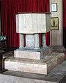 All Saints, Weston Longville, Norfolk - Font - geograph.org.uk - 485065.jpg