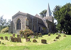All Saints, Wotton Underwood, Bucks - geograph.org.uk - 333342.jpg
