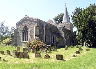 Wotton Underwood - Image: All Saints, Wotton Underwood, Bucks geograph.org.uk 333342