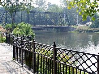 Second Street Bridge (Allegan, Michigan) NRHP-listed bridge in Allegan, Michigan