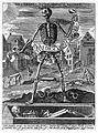 Allegory of death; skeleton, c.1600 Wellcome L0014669.jpg