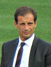 Massimiliano Allegri, tecnico del Sassuolo che nel 2008 ottiene la sua prima promozione in Serie B, vincendo il girone A di C1 e la Supercoppa di Lega.