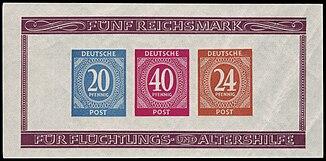 Briefmarken Ausgaben Des Alliierten Kontrollrats Wikipedia