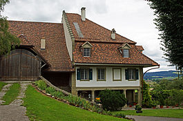 Allmendingen bei Bern - The Noble's Manor House in Allmendingen