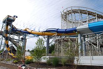 Great Escape (amusement park) - Alpine Freefalls