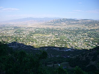 Alpine, Utah - Overlooking Alpine