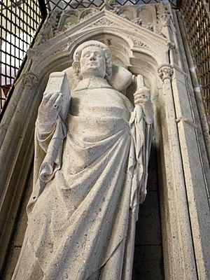 Bruno III of Berg - Grave of Bruno III of Berg, Archbishop from Cologne, in Altenberg