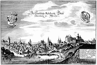 Altenburg - Altenburg about the year 1650
