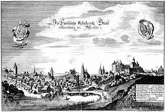 Altenburg - Altenburg about the year 1650