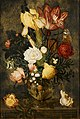 Ambrosius Bosschaert de Oude - Bloemen in een vaas met leeuwenmaskers - BR0001 (R443) - Rijksmuseum Twenthe.jpg