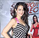 Ameesha Patel at Premiere of 'Shortcut Romeo'.jpg
