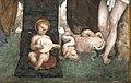 Amico aspertini, madonna col bambino e santi, 1508-09, 03 putto musicante e drago.jpg