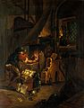 An alchemist in his laboratory. Oil painting. Wellcome V0017660.jpg