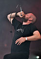 "Anaal Nathrakh, Dave ""V.I.T.R.I.O.L."" Hunt at Party.San Metal Open Air 2013 09.jpg"