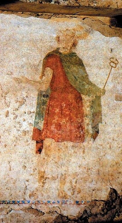 Ancient Mieza, Macedonian tombs of Lefkadia, The Tomb of Jugdement 545fddcedb8f434cdb346f41dbd838ec