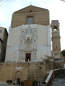 Ancona church of S. Francesco of stairs.JPG