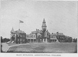 Anderson Hall (Manhattan, Kansas) - Anderson Hall, 1912