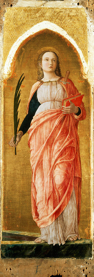 Justina of Padua - Image: Andrea Mantegna 016