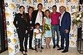 Andrea Morricone, Nicolas Haltmar, Cestmir Vancura, Andrea Morricone after the Premiere of 72 Hours in Bangkok at Film Festival Zlin 2018.jpg