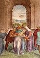 Andrea del Sarto, liberazione di un'indemoniata, 1509-1510, 07.jpg