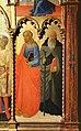Andrea di giusto, adorazione dei magi e santi, da s. andrea a ripalta, 1436, 04 jacopo e antonio abate.jpg