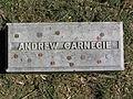 Andrew Carnegie Footstone 2010.JPG