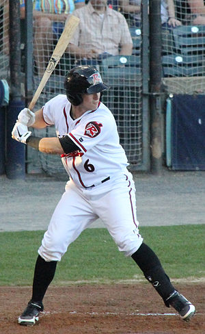 Andrew Susac - Susac batting for the Richmond Flying Squirrels in 2013