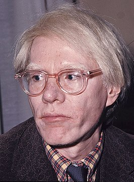 Andy Warhol in 1975
