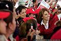 Angélica Rivera de Peña en la Toma de Protesta de la Estructura Territorial de Ecatepec de Morelos, Estado de México. (6864810615).jpg