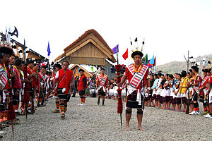 Naga people - A traditional Angami Naga festival