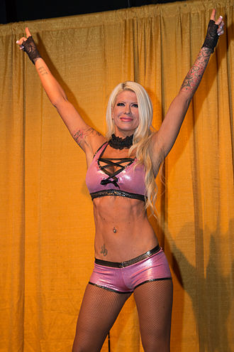 Angelina Love - Angelina Love in February 2014