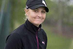 Anna Nordqvist - Nordqvist at the 2013 Kingsmill Championship