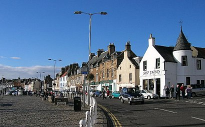 How to get to Anstruther with public transport- About the place