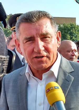Ante Gotovina - Gotovina at the 20th Anniversary of Operation Storm in August 2015