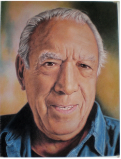 Anthony Quinn, pastel portrait by Robert Perez Palou.png